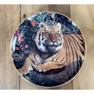 FRANKLIN MINT Tiger in Paradise - Ron Kimball